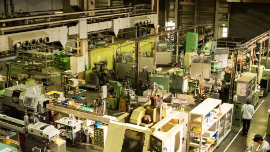 機械設備を自社開発